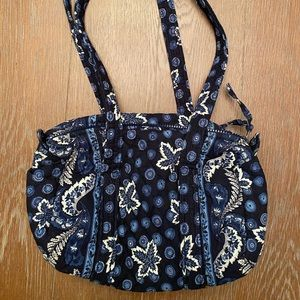Vera Bradley Navy, Blue and White Bag